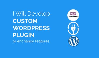 Develop custom wordpress plugin or enhance features