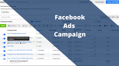 Create and run effective Facebook Ads Campaign