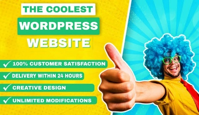 Design a responsive wordpress website and fix any bugs