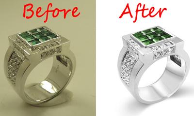 Do Jewelry Photo Retouching  ( 10 images )