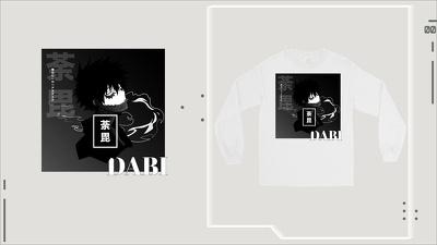 Design streetwear anime
