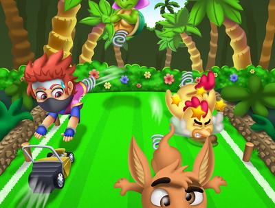 Design your video game splash screen