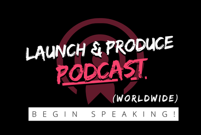 Launch and publish 1 podcast worldwide from scratch