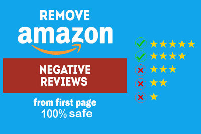 Manually Remove One  Amazon Negative Review From First Page