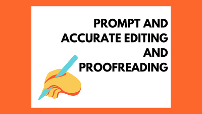 Accurately proofread and edit your content