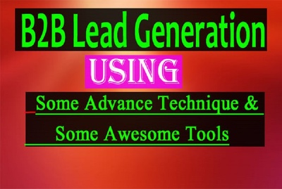 Do B2B lead generation with verified emails