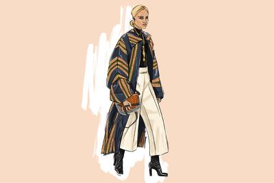 Draw fashion illustration, sketch, portrait, editorial