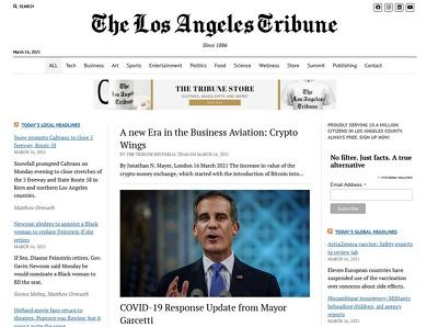 Feature or Interview you on The Los Angeles Tribune - LA Tribune