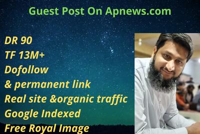 Guest Post On Apnews.com /www.apnews.com TF 13M+