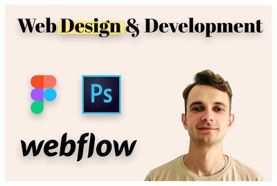 Convert your design into webflow responsive website