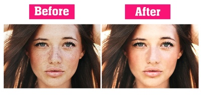 Professionally retouch/edit your 3 photos