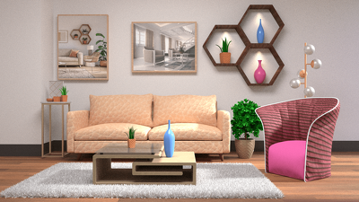 Design your Living room and Office interior design and decorator