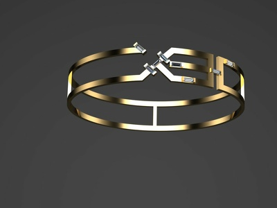 A creative design for your  jewelry