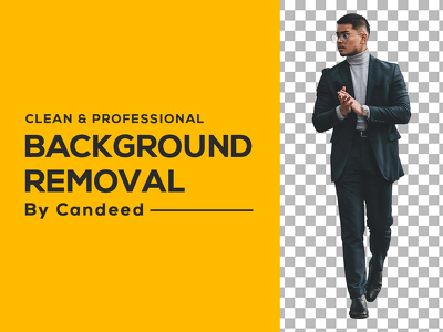 Clean & Professional  Background Removal