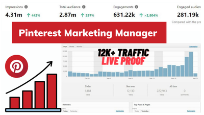 Your professional Pinterest marketing manager and pinterest SEO