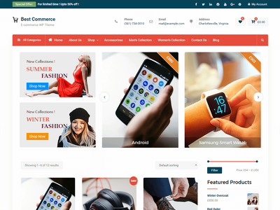 Design and develop a stunning Woo-commerce website in WordPress