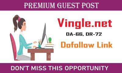 Write and Publish Dofollow Guest Post On Vingle.net|DA-66, DR-72
