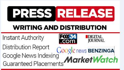 Press Release On Benzinga.com