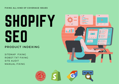 Fix shopify coverage indexing and seo issues