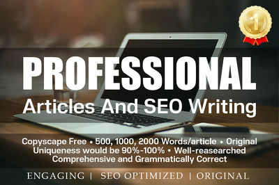 Write an engaging 500 word SEO optimized article or blog post