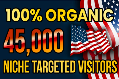 Drive real USA targeted web traffic