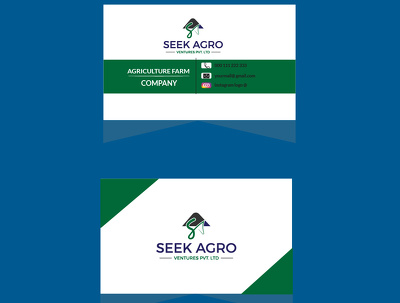 Design professional business card or stationery