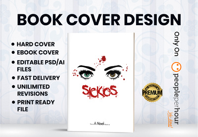 Create book cover design and ebook cover in 24 hours