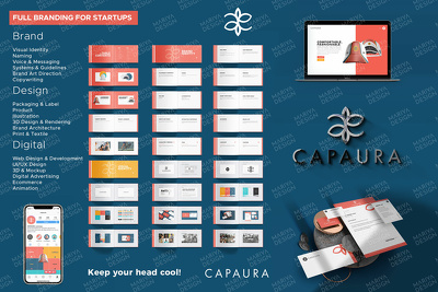 Design PREMIUM agency level brand identity and visual guidelines