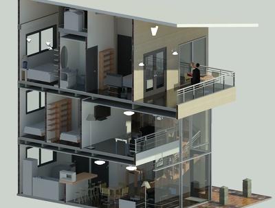 Create a 3D model LOD 300 in Revit