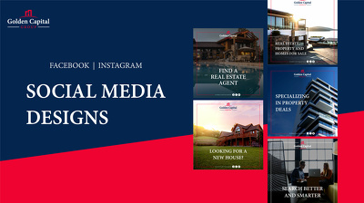 Design amazing 20 Social Media Posts for your Brand