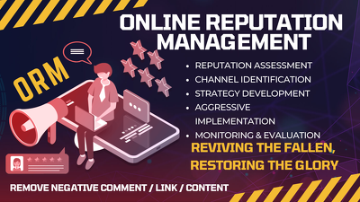Get reverse SEO and Online Reputation Management Service