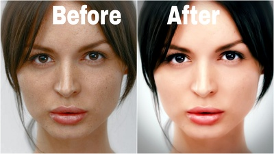 Do retouch Your 5 Photos professionally