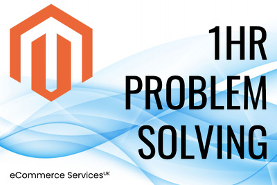 Spend 1 hr fixing any issues with Magento 1 or 2