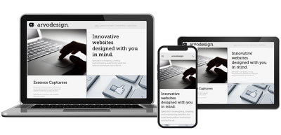 Create and build a bespoke, multi-page website