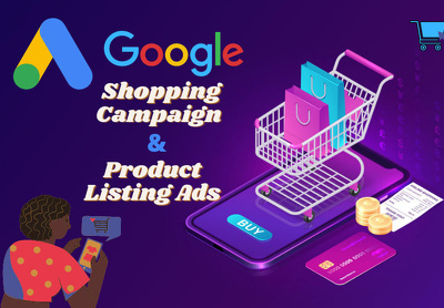 Set up a Google Shopping Campaign or Product listing Ads