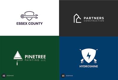 Create Vector business Logo Design + Favicon + Source File