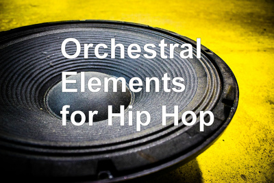 Provide orchestral sounds for Hip Hop, Rock song (up to 2 mins)