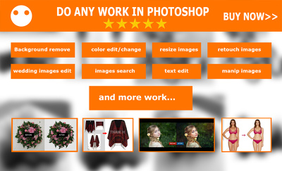Do any work in photoshop