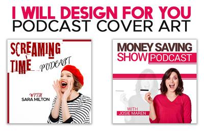 Design PODCAST cover art or thumbnail