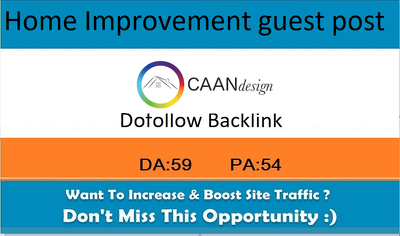Home Improvement Guest Post On Caandesign |caandesign.com-DA 53
