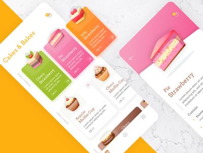 Design mobile app User Interface (UI)