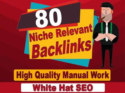 Do 80 niche relevant low obl blog comments backlinks