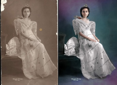 Restore, retouch, and colorize 1 old photo