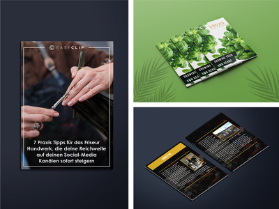 Design eBook cover and interior pages formatting
