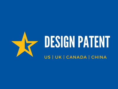 Draft and file Design Patent in US, UK & Worldwide