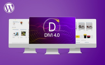 Design and create a fully responsive website with divi theme
