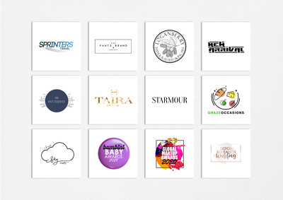 Develop THREE STUNNING logo concepts for your brand!