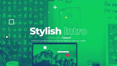 Create your Intro Opener Slideshow like the sample video