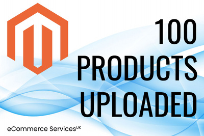 Add 100 products to your Magento 1 or 2 Store