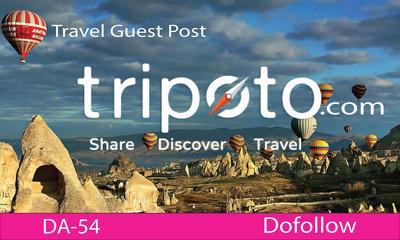 Publish Dofollow Travel Guest Post on Tripoto|Tripoto.com,DA-54